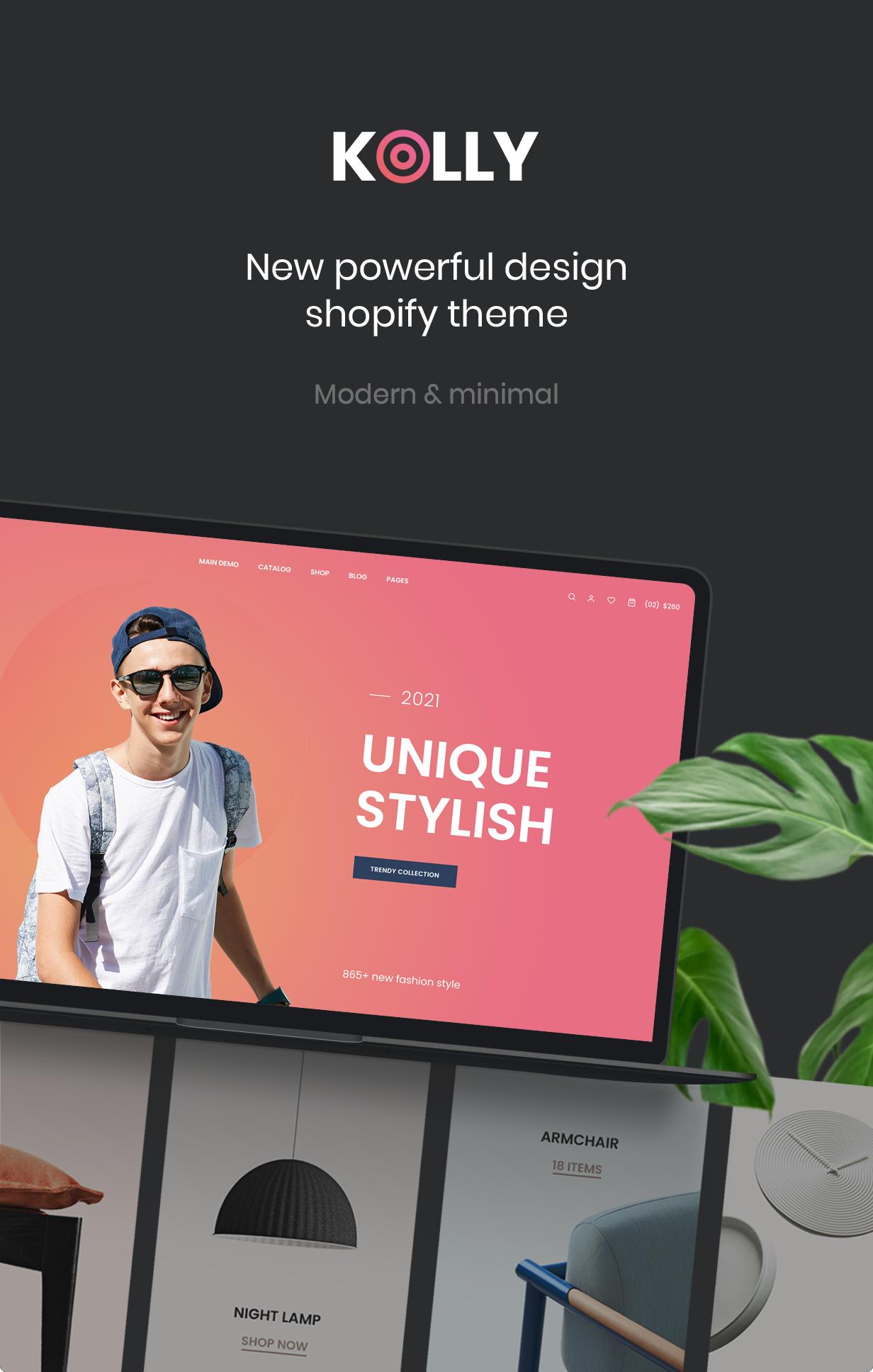 Kolly- Best Multipurpose Shopify Theme - 2